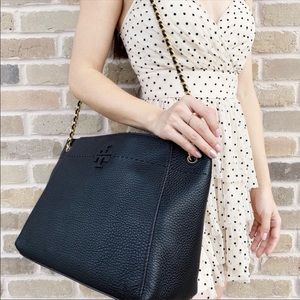 Tory Burch Large Chain Tote